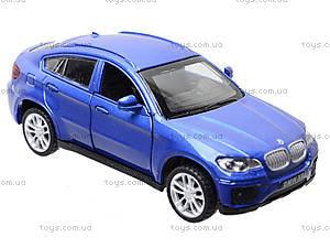 Металлическая машина BMW X6 «Автодром», 6435, отзывы