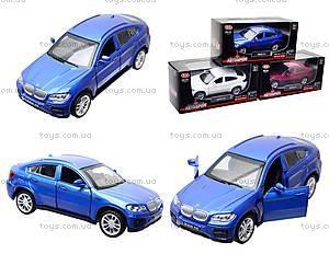 Металлическая машина BMW X6 «Автодром», 6435