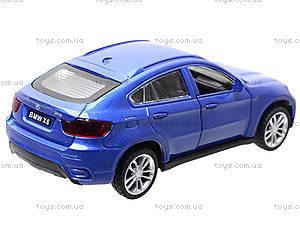 Металлическая машина BMW X6 «Автодром», 6435, цена