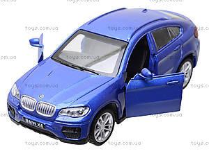 Металлическая машина BMW X6 «Автодром», 6435, игрушки