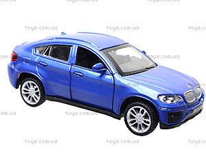 Металлическая машина BMW X6 «Автодром», 6435, toys.com.ua