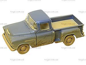 Металлический джип Chevy Stepside Pick-Up 1955 (Muddy), KT5330WY, детские игрушки