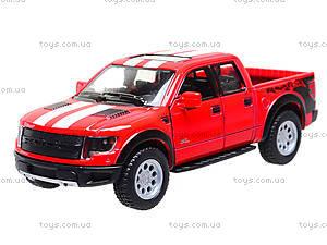 Игровая модель машины Ford F-150 SVT Raptor, KT5365FW, игрушки