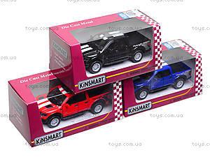 Игровая модель машины Ford F-150 SVT Raptor, KT5365FW, детские игрушки
