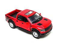 Металлическая модель джипа Ford F-150 SVT Raptor Supercrew, KT5365W, фото