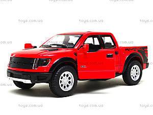 Металлическая модель джипа Ford F-150 SVT Raptor Supercrew, KT5365W, магазин игрушек