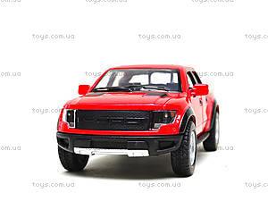 Металлическая модель джипа Ford F-150 SVT Raptor Supercrew, KT5365W, toys.com.ua