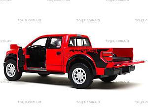Металлическая модель джипа Ford F-150 SVT Raptor Supercrew, KT5365W, toys