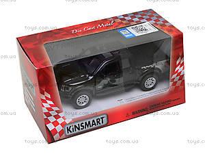 Металлическая модель джипа Ford F-150 SVT Raptor Supercrew, KT5365W, іграшки