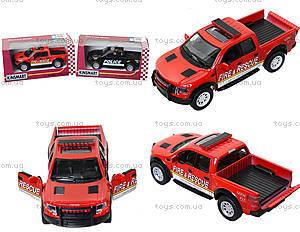 Коллекционная модель Ford F-150 SVT Police/Fire, KT5365WPR, цена