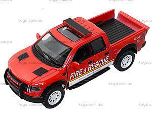 Коллекционная модель Ford F-150 SVT Police/Fire, KT5365WPR, магазин игрушек