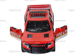 Коллекционная модель Ford F-150 SVT Police/Fire, KT5365WPR, toys.com.ua