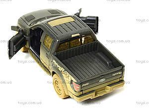 Коллекционная модель Ford F-150 SVT Raptor Supercrew, KT5365WY, игрушки