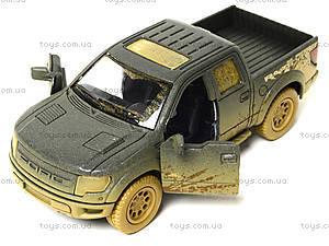 Коллекционная модель Ford F-150 SVT Raptor Supercrew, KT5365WY, детские игрушки