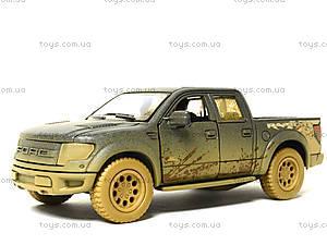 Коллекционная модель Ford F-150 SVT Raptor Supercrew, KT5365WY, магазин игрушек