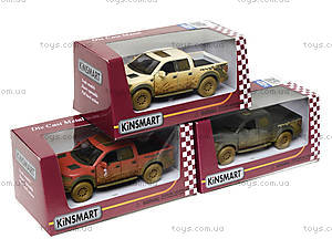 Коллекционная модель Ford F-150 SVT Raptor Supercrew, KT5365WY, toys.com.ua