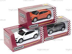 Коллекционная машинка Lamborghini Urus, KT5368W, магазин игрушек