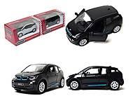 Игрушечная модель джипа BMW I3, KT5380W, отзывы