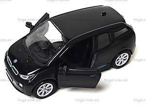 Игрушечная модель джипа BMW I3, KT5380W, детские игрушки