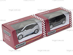 Игрушечная модель джипа BMW I3, KT5380W, магазин игрушек