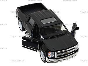 Машина металлическая Chevrolet Silverado, KT5381W, детские игрушки
