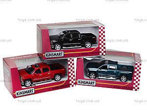 Машина металлическая Chevrolet Silverado, KT5381W, магазин игрушек