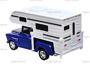 Металлическая модель Chevy Stepside PICK-UP Truck Camper, KT5505W, купить
