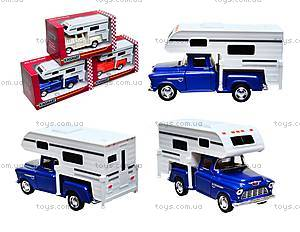 Металлическая модель Chevy Stepside PICK-UP Truck Camper, KT5505W