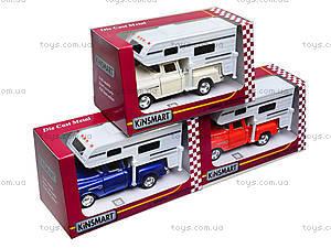 Металлическая модель Chevy Stepside PICK-UP Truck Camper, KT5505W, отзывы