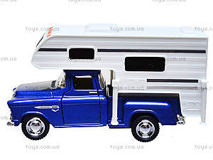 Металлическая модель Chevy Stepside PICK-UP Truck Camper, KT5505W, цена