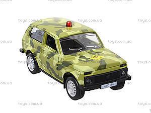Инерционная модель военного джипа «Автопарк», 6400C, купить