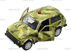 Инерционная модель военного джипа «Автопарк», 6400C, игрушки