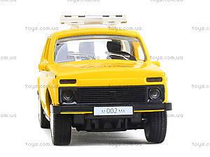 Игрушечная модель такси «Автопарк», 6400D, купить