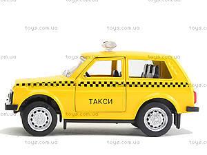 Игрушечная модель такси «Автопарк», 6400D, отзывы