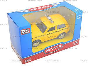 Игрушечная модель такси «Автопарк», 6400D, цена