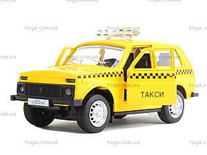 Игрушечная модель такси «Автопарк», 6400D, детские игрушки