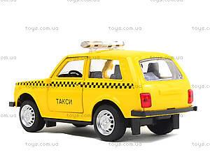 Игрушечная модель такси «Автопарк», 6400D, магазин игрушек
