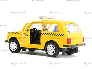 Игрушечная модель такси «Автопарк», 6400D, toys.com.ua