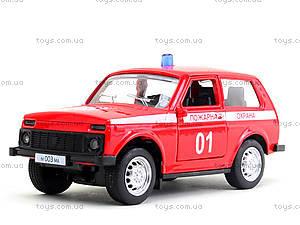 Пожарный джип «Автопарк», 6400E, игрушки