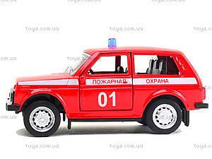 Пожарный джип «Автопарк», 6400E, детские игрушки