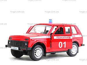 Пожарный джип «Автопарк», 6400E, магазин игрушек