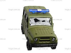 Металлическая модель джипа  «Автопарк», 6401A, фото
