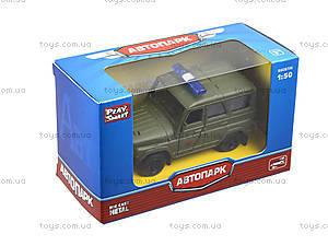 Металлическая модель джипа  «Автопарк», 6401A, цена