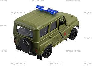 Металлическая модель джипа  «Автопарк», 6401A, игрушки