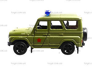Металлическая модель джипа  «Автопарк», 6401A, детские игрушки