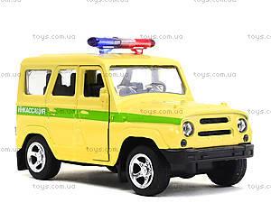 Металлический джип «Инкассация», 6401C, игрушки