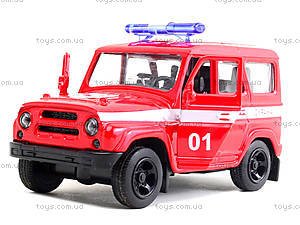 Игрушечный джип «Пожарка», 6401D, купить