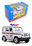 Модель джипа МЧС «Автопарк», 6401F, фото
