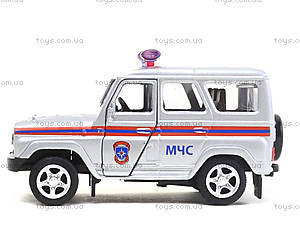 Модель джипа МЧС «Автопарк», 6401F, игрушки