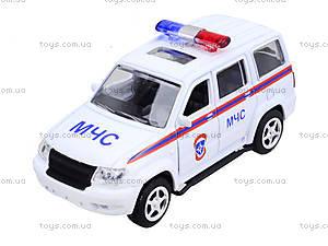 Инерционный автомобиль «Автопарк. МЧС», 6403A, цена